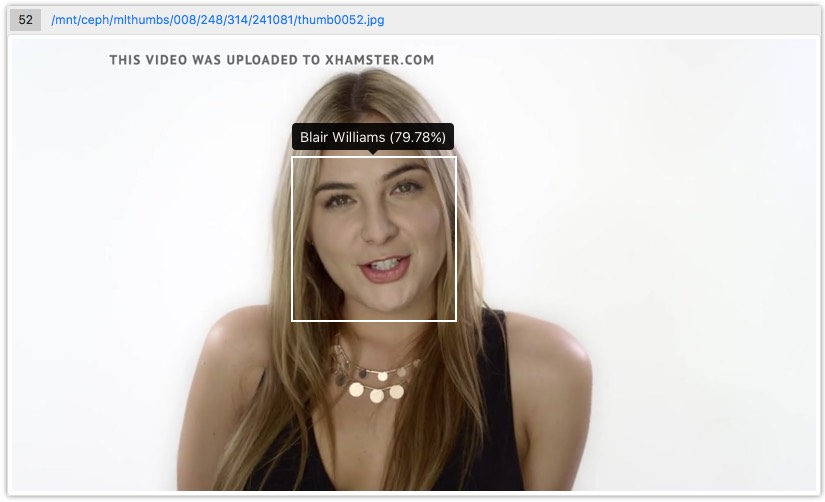 xHamster Releases AI Face Recognition