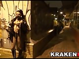 Cleo Gold in exclusive public submission scene in Krakenhot