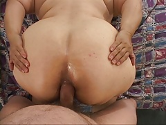 Big Butt Mexican Granny Gets Butt Fucked BBW GILF
