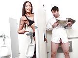 Asian Tranny fucks Chad Diamond