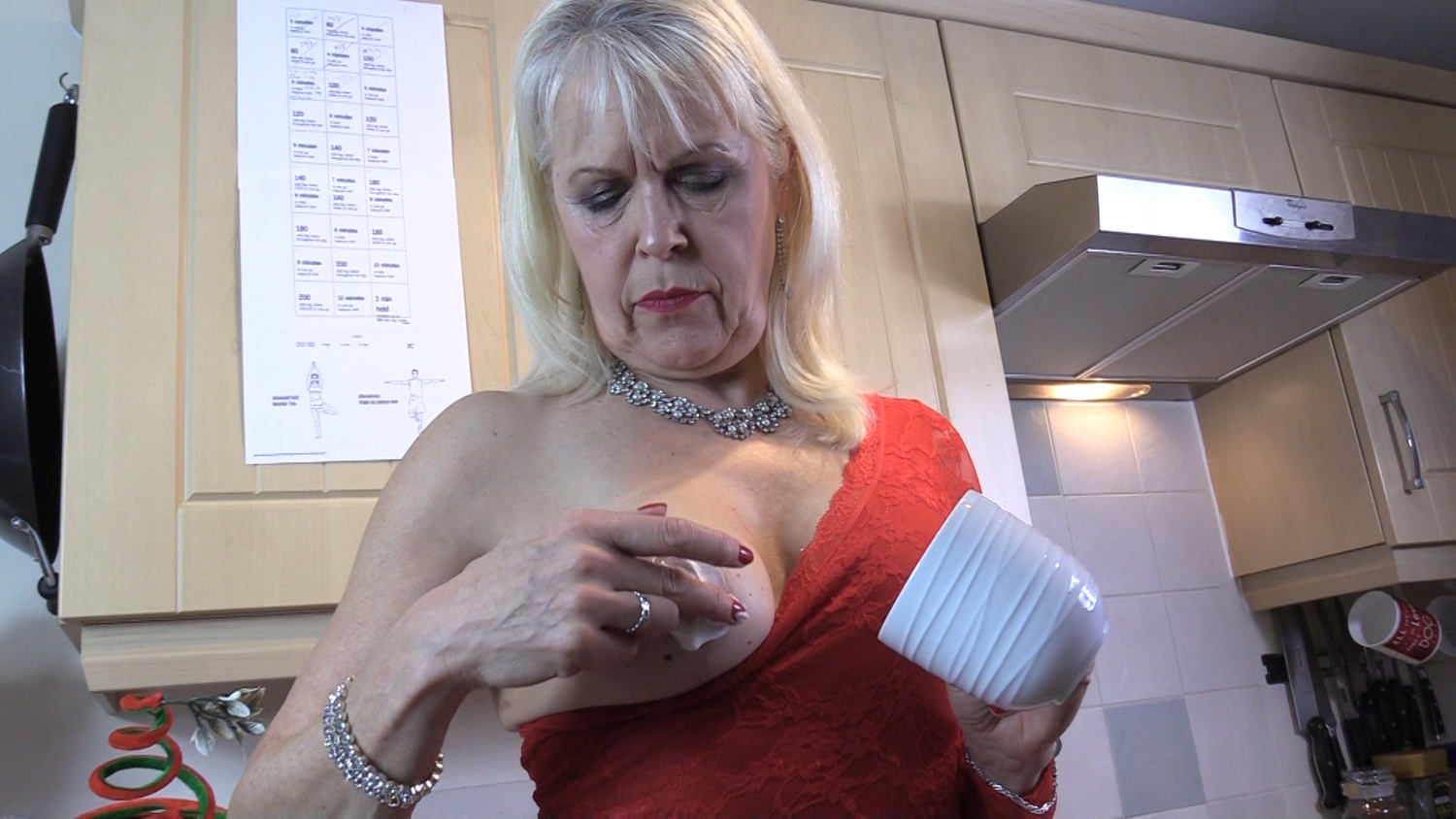 Lady sextasy loves greek yoghurt - 3 6
