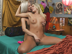 Tiffany Watson makes Scarlet Red's pussy warm and wet