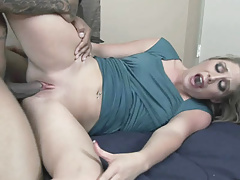 Cute coed Mailia Kelly takes some dick in her young pussy