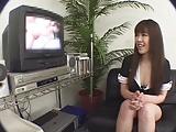 【素人】AV見て欲情させた巨乳お姉さんにオナニーからの発情セックスwww