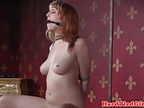 Tiedup submissive spanked and