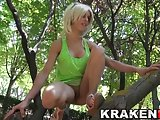 Krakenhot - Provocative teen in a voyeur video at the park