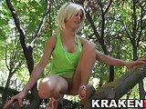 Krakenhot - Provocative Teen In A Voyeur Video At The Park