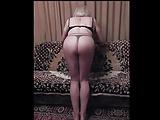 Vika's ass moving slut
