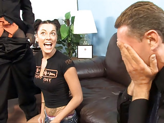 Father Watches His Daughter Chayse Evans Goes Black