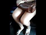 Sexy Filipina Filipino Pinay Jeep Leg Show