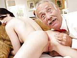 Alex Harper Enjoys Anal With Old Men