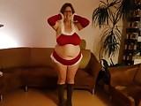 My BBW Big Boobs MILF wife showes us her boobs
