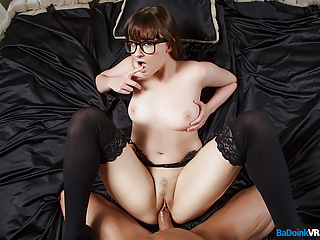 BaDoinkVR.com Spex Hottie Jay Taylor Ties And Fucks You