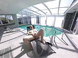 horny BBW Milf feels so good at the pool