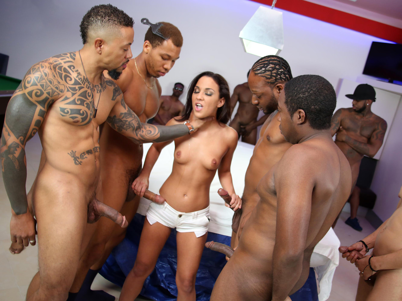 Anal Slut Tiffany Doll Loves DP Gangbang And Big Black Cock Porn Videos