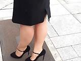 Secretary in heels