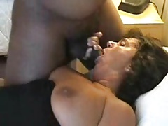 Thick mature's first black