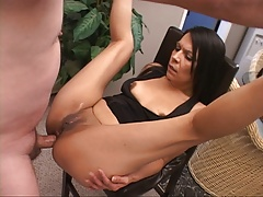 Petite Mature Mexican MILF Gets Butt Fucked