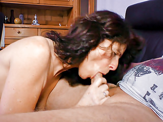 XXX OMAS - Mature German broad enjoys a dirty hard fucking