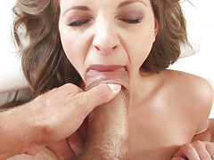Leona riding on Rocco Siffredi's dick