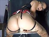 Sexy Redbone Ebony Rides Her D