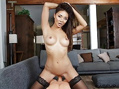 BaBeVR Asian Ayumi Anime Tapes Her Solo Show For Audition