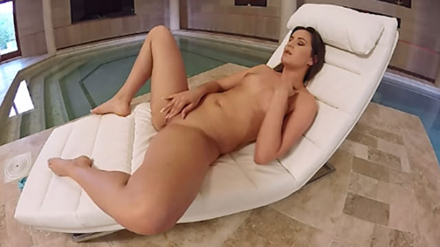image Virtualporndesire tv by the pool 180 vr 60 fps
