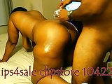 Sexy wide hips Ebony MILF(shower,pussy play,spray!!!)