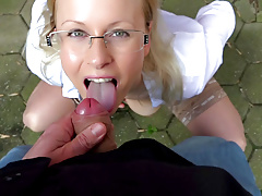 My Dirty Hobby - Quick POV outdoor fuck