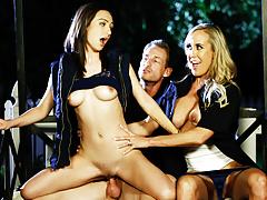 The revenge fuckfest begin with Brandi Love & Lily Jordan