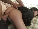 Harsh anal sex with a pretty girl