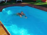Lisa in the pool 3