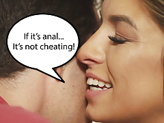 If it's anal, it's not cheating! - Aspen Ora