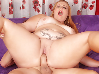 Sexy newbie plumper Tiffany Star fucks hard