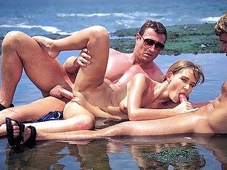 Nikki Montana, DP Threesome in Paradise
