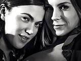 Busty Lesbian MILFs Alyssa Ree