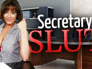 Secretary Slut Annabelle Doll
