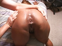 Mature Ebony Mom Gets Butt Fucked