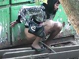Voyeur pissing 46