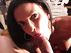 My Dirty Hobby - Sexy French MILF sucks cock!