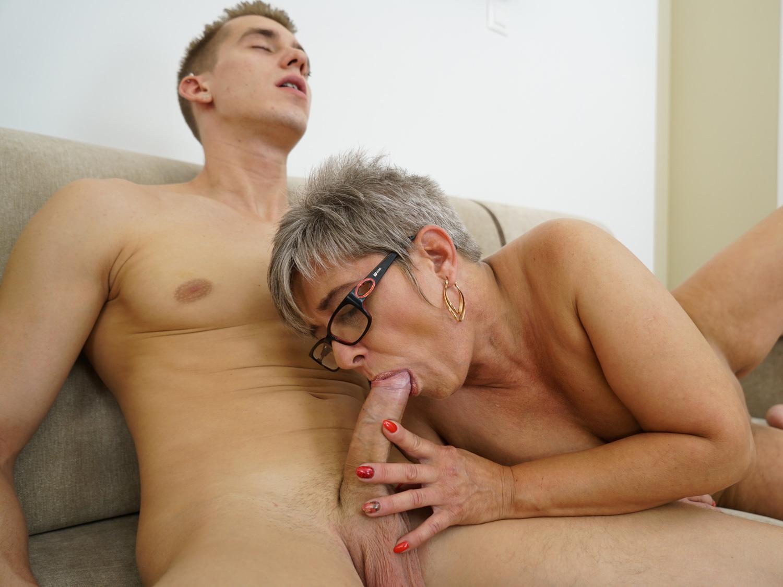 Grandma Huge Cock