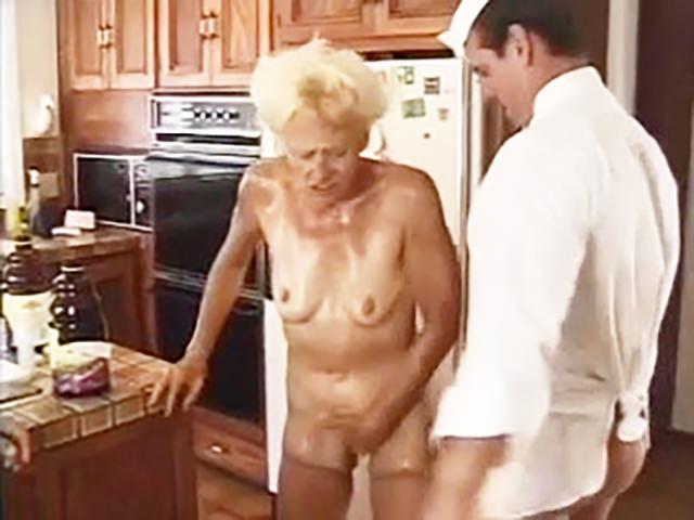 Granny wants anal sex