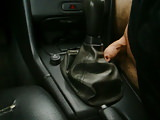 Car Fuck ,Auto fick , Volvo V70 Schaltsack