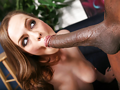 Monica Rise Fucks Mandingo's Black Cock