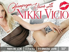 Grooby VR - Champagne Kisses with Nikki Vicious