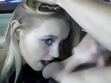 Amateur Hottie Blows BF on Web