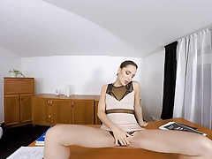 VirtualRealPorn.com - Teachers office