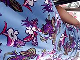Brunette Turkish Milf Upskirt (Lace Thong)