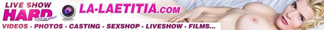 Retouve toutes mes videos et mon livecam en direct sur LA-LAETITIA.COM