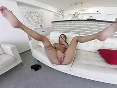TmwVRnet.com - Silvia Dellai - Fantastic solo sex scene